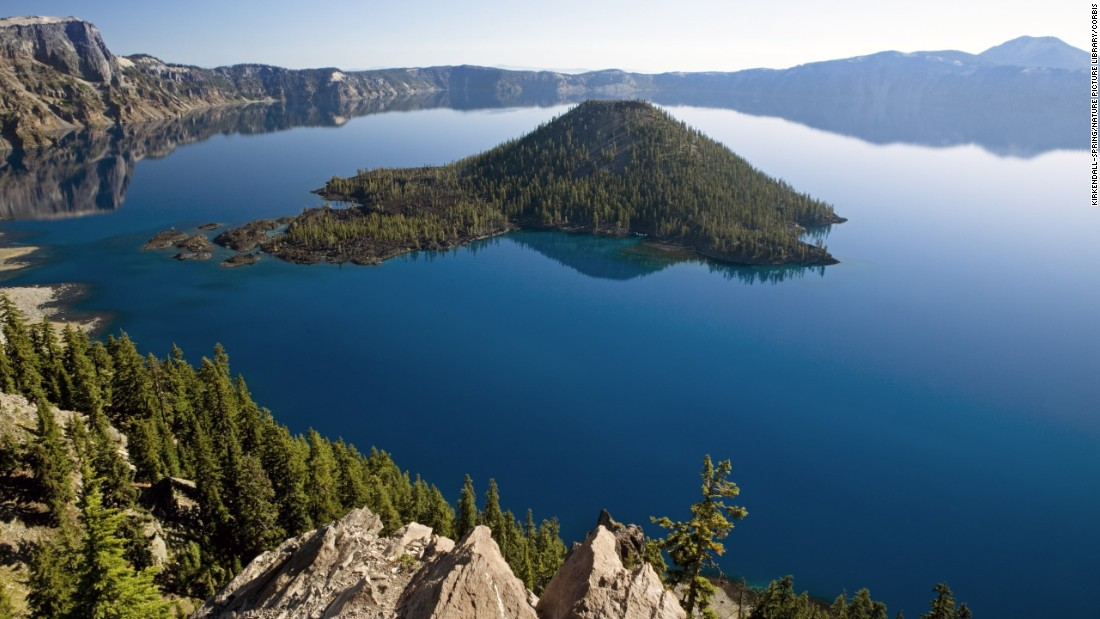 While there's no evidence that Native Americans lived at Crater Lake, they did treat it as a holy site before the eruption of Mount Mazama, which occurred some 7,000 years ago and created the deepest lake in the United States (1,943 feet).<strong> </strong>Some Native Americans still consider the lake holy. The eye-catching site became Crater Lake National Park on May 22, 1902.