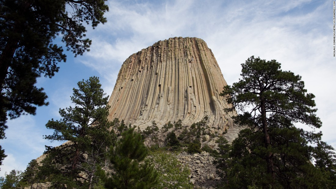 "The Devils Tower rock formation is a sacred site to more than 20 surrounding Native American tribes, who call it ""Bear's Lodge,"" ""Bear's House,"" ""Bear's Tipi"" and other names. The site was protected under the 1906 Antiquities Act. More recently, a spiritual leader from the Lakota Nation in Wyoming has petitioned the federal government to change the name to Bear Lodge National Monument."