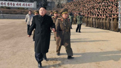 U.S. sanctions North Korean leader for first time over human rights abuses