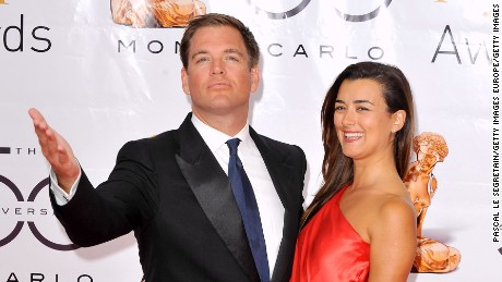 MONTE-CARLO, MONACO - JUNE 10:  Actors Michael Weatherly and Cote De Pablo arrive at the Closing Ceremony of the 2010 Monte Carlo Television Festival held at Grimaldi Forum on June 10, 2010 in Monte-Carlo, Monaco.  (Photo by Pascal Le Segretain/Getty Images)