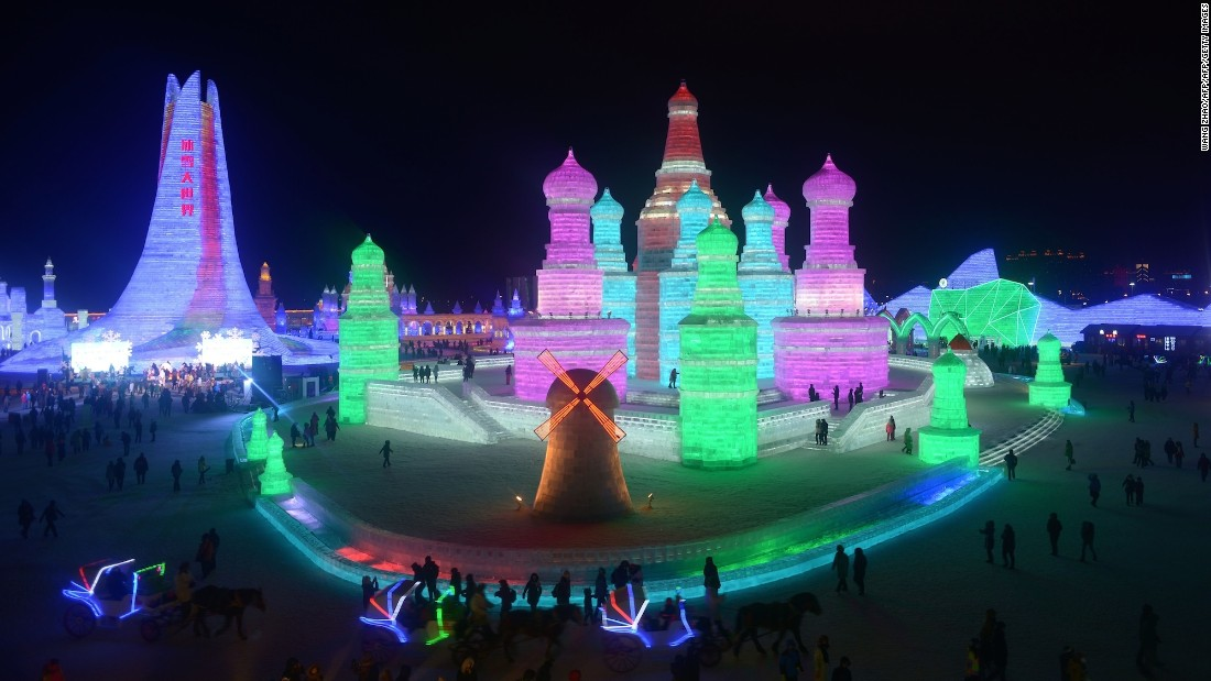 Featuring incredible sculptures, the 2016 Harbin International Snow and Ice Festival officially opened its chilly gates on January 5.