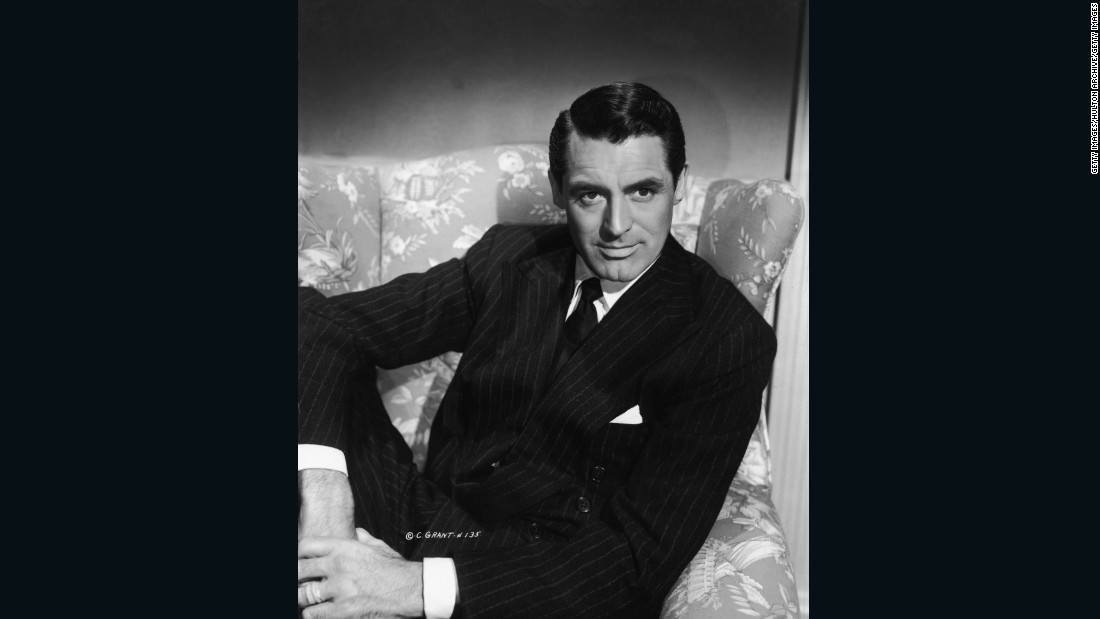 British actor Cary Grant epitomizes an Old Hollywood sophistication that men still try to emulate today.