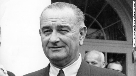 LBJ in 1965 at the White House