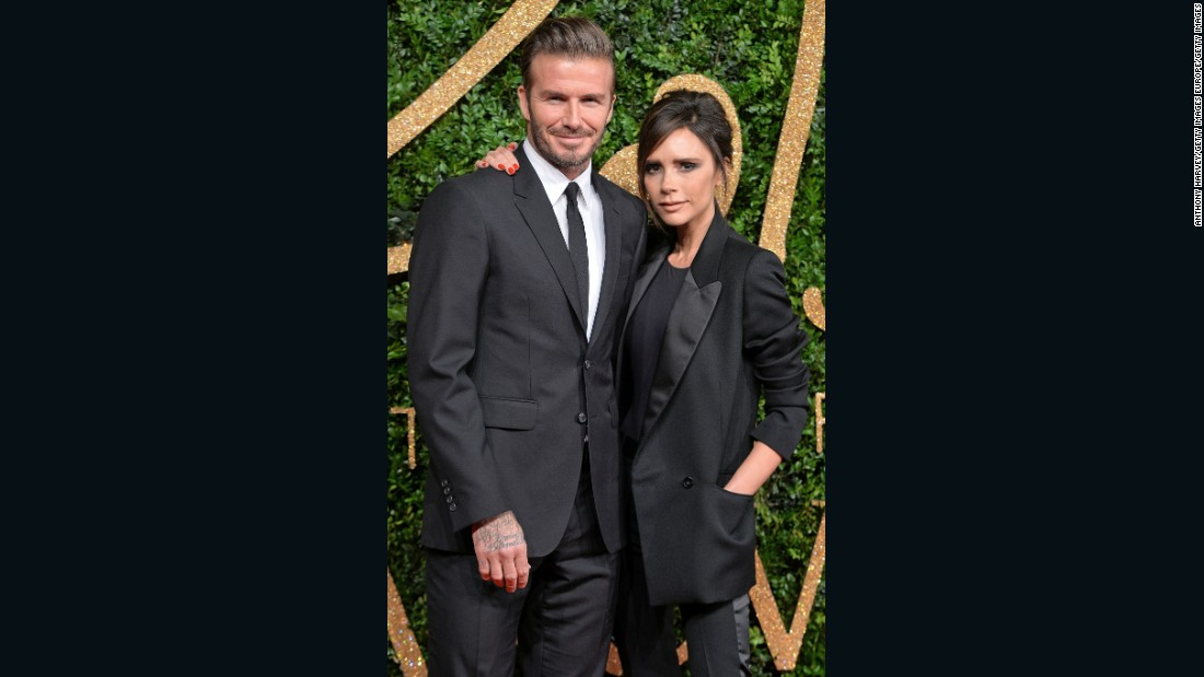 Today David Beckham is known as much for his personal style as he is for his football career. (It likely doesn't hurt that he's married to an award-winning fashion designer.)