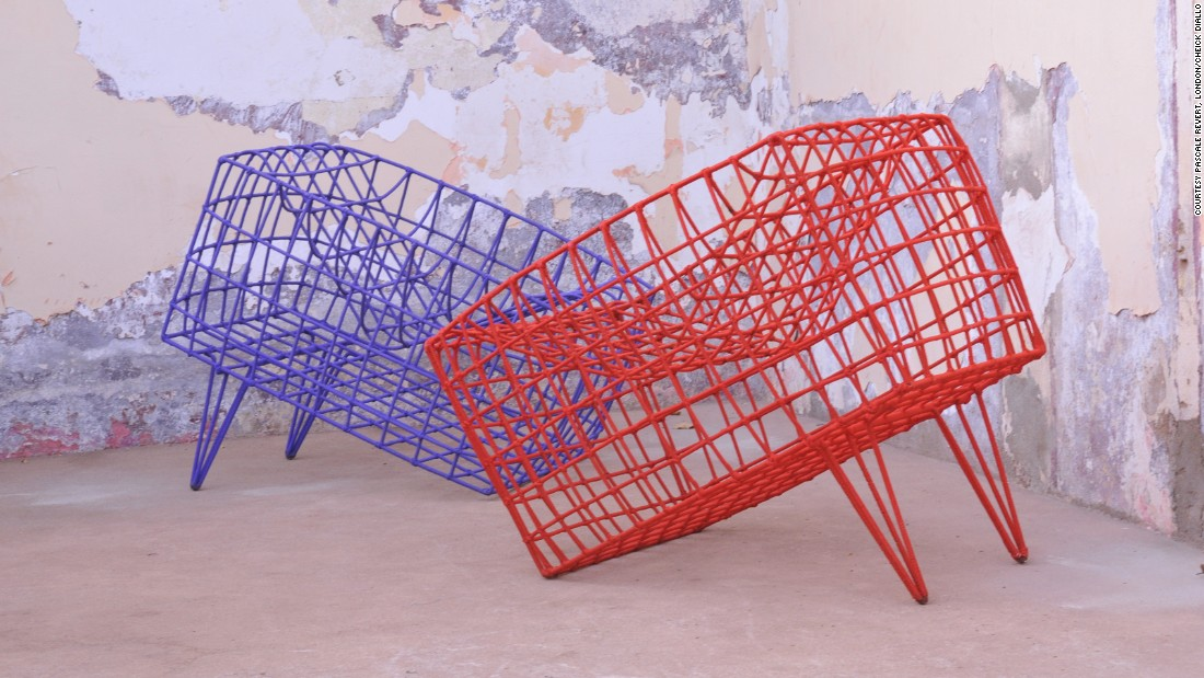 Trained as an architect at the Ecole d'Architecure de Rouen, Diallo is now based in Bamako, Mali, after establishing a studio in the mid-90s. Diallo specializes in furniture, such as the 'Sansa' armchair (pictured). He has featured at the Salon Maisons et Objects in Paris.