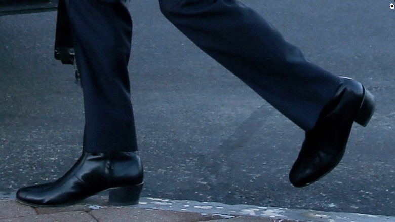 Will Marco Rubio ever wear those boots again?