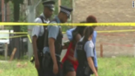 Gun violence in Chicago