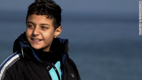 Meet inspiring refugee boy who wants to heal the world