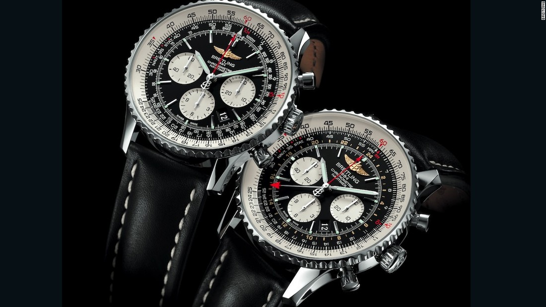"Breitling's brand new Exospace B55 Connected is a hybrid, using Bluetooth rather than wifi and an upgraded quartz movement, for those who want both the functionality of a smartwatch and the look and feel of a traditional timepiece. But that doesn't mean the brand is abandoning mechanical watches like its classic Navitimer (pictured). ""In 2016 we will also continue to develop in-house movements in our watches,"" Breitling USA President Thierry Prissert tells CNN. ""And we will have have plenty of new, exciting watches being released this year at Baselworld in March that I am looking forward to."""