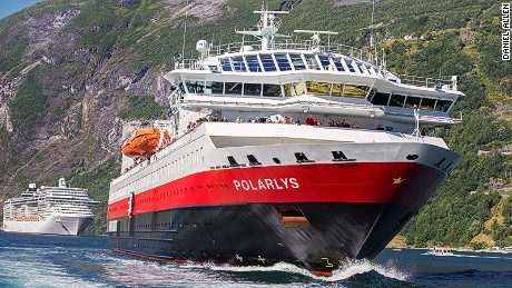 North by Northwest:  Norway's Hurtigruten line