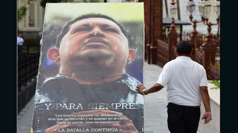 Images of Hugo Chavez removed from National Assembly