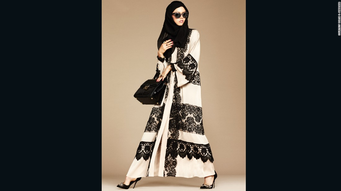 The hijab and abaya are common garments worn throughout the Middle East.