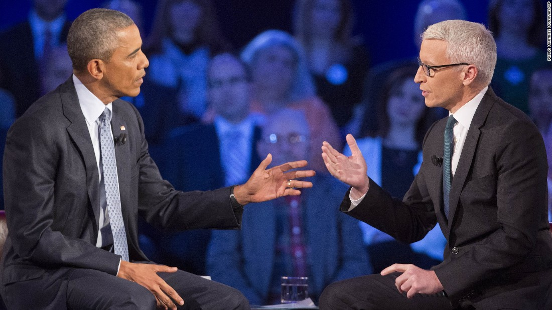 """Obama said he sees two sides of the gun issue. In Chicago, where gun crime is a serious issue, it's sometimes cheaper for young Americans to get a gun than a book, he said. But he noted that when he and his wife were in Iowa on the 2008 campaign trail, she said that if she lived in a farm house with a far away sheriff's department and easy access to the house from the highway: """" 'I'd want to have a shotgun or a rifle to make sure I was protected and my family was protected,' """" Obama said. """"And she's absolutely right."""""""
