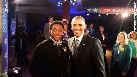 Teen: President gave me genuine answer