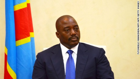 President Joseph Kabila succeeded his father to lead the Democratic Republic of Congo in 2001.
