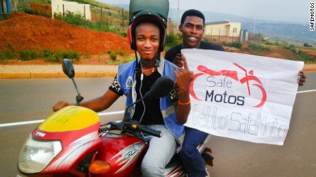 Safemotos is improving road safety in Rwanda