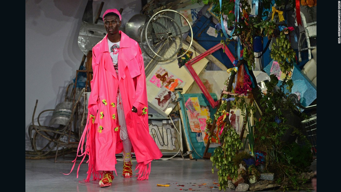 Though it officially dissolved last September, the short-lived English brand Meadham Kirchhoff was consistently praised for challenging gender stereotypes and championing diversity on the runway.