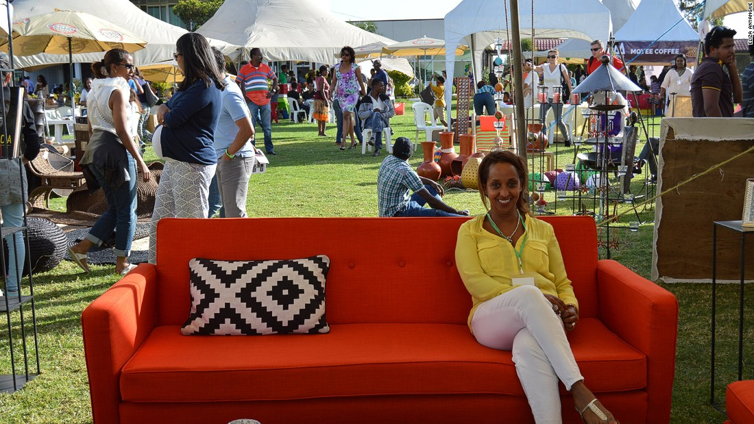 "Hamere Eleni Demissie is the founder of <a href=""https://www.facebook.com/actuelinteriors/"" target=""_blank"">Actuel Urban Living</a> which makes contemporary furniture in Ethiopia."