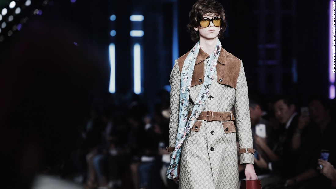 Since taking the reigns at Gucci last January, Alessandro Michele has received critical acclaim for his unabashedly feminine and luxurious menswear.