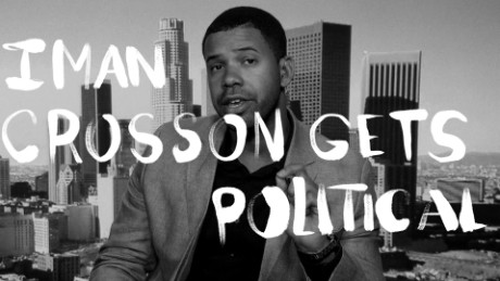 Iman crosson gets political social card