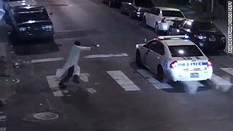 Philadelphia police looking into report that man who shot officer had radical ties