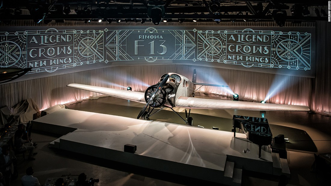 Luggagemakers RIMOWA and airline Ju-Air have teamed up to build a brand new Junkers F13, which will take its maiden flight in March 2016.