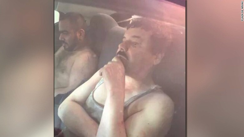 Drug kingpin 'El Chapo' captured in Mexico