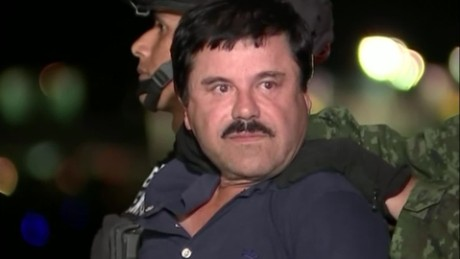 'El Chapo' returns to same prison he fled