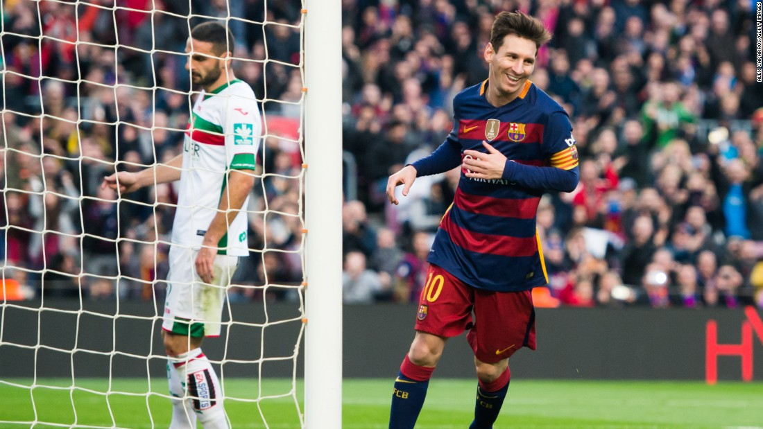 Lionel Messi scored a hat-trick as Barcelona comfortably swept aside Granada 4-0 at the Nou Camp Saturday.