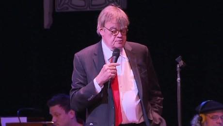 Radio legend Garrison Keillor takes his final bow