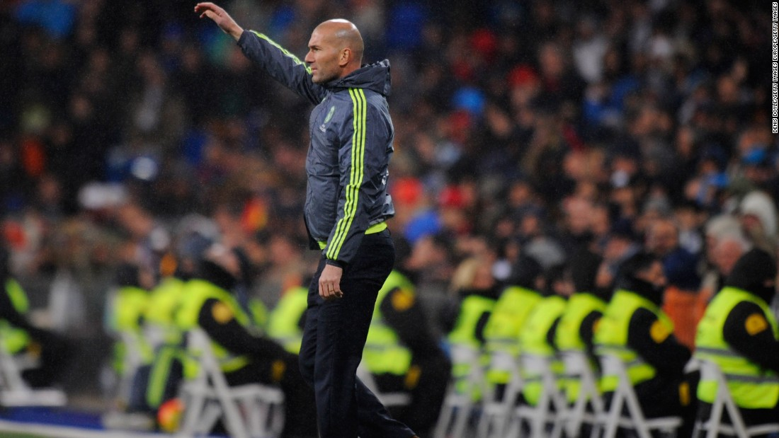 Club-legend Zidane's first match in charge of Real Madrid was much anticipated by fans of the Spanish giant.