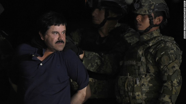 El Chapo transferred to new prison