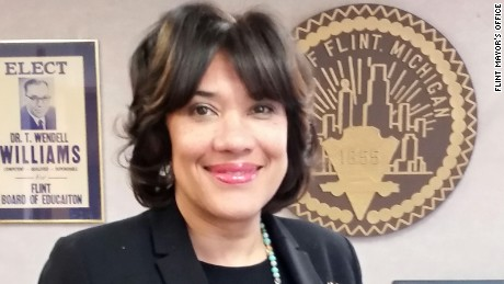 Karen Weaver was elected mayor of Flint, Michigan in 2015.