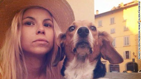 35-year-old American artist Ashley Olsen was found dead in her apartment in Florence, Italy.