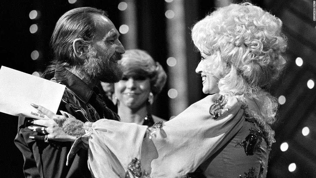 "Willie Nelson has sung duets with just about everybody -- including Parton. The two performed ""Everything's Beautiful (In Its Own Way)"" in 1982."