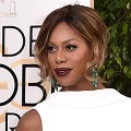 golden globes red carpet 2016 - Laverne Cox