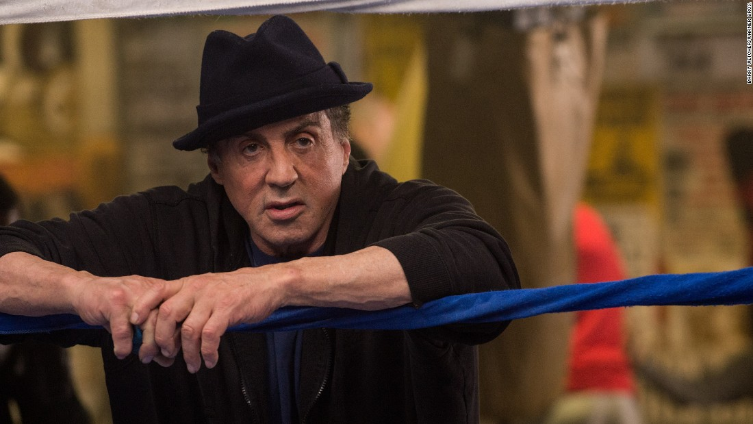 "<strong>Best supporting actor in a motion picture:</strong> Sylvester Stallone, ""Creed"""