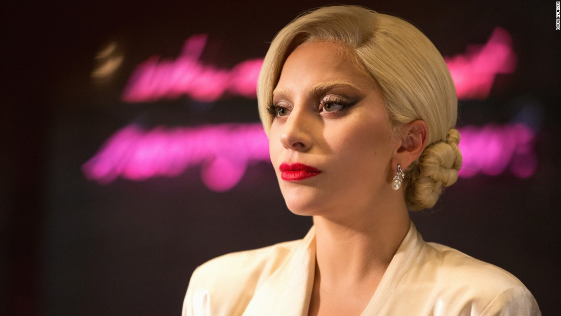 "<strong>Best actress in a miniseries or television film:</strong> Lady Gaga, ""American Horror Story: Hotel"""