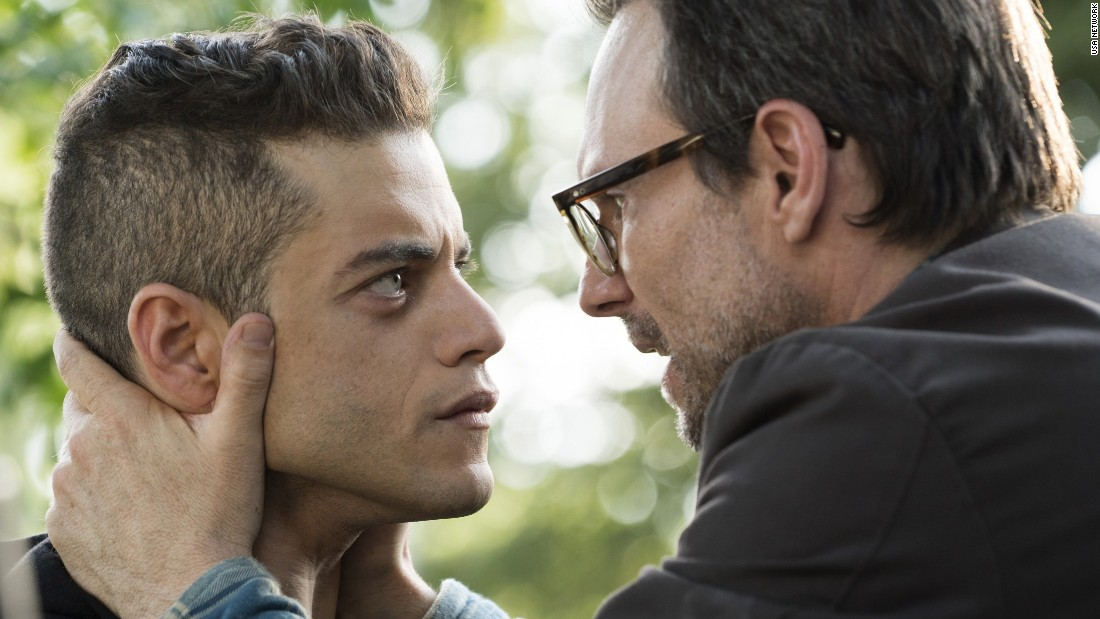 "<strong>Best television series -- drama:</strong> ""Mr. Robot"""