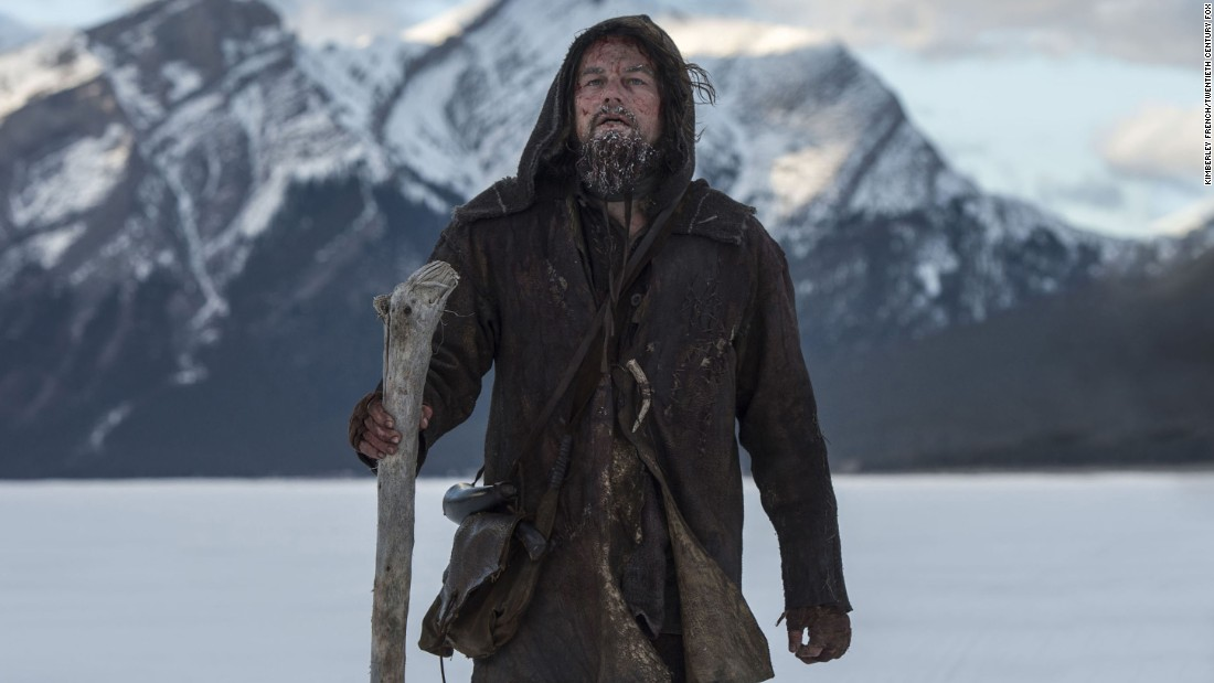 "<strong>Best actor: </strong>Leonardo DiCaprio, ""The Revenant"""