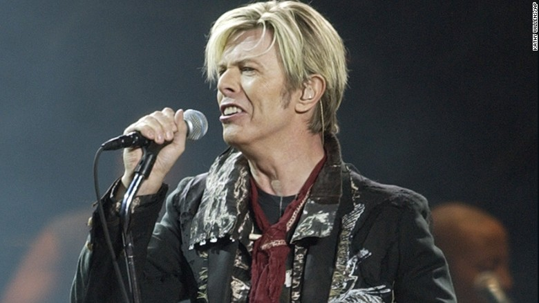 "David Bowie launches his United States leg of his worldwide tour called ""A Reality Tour,"" at Madison Square Garden in New York in 2003."
