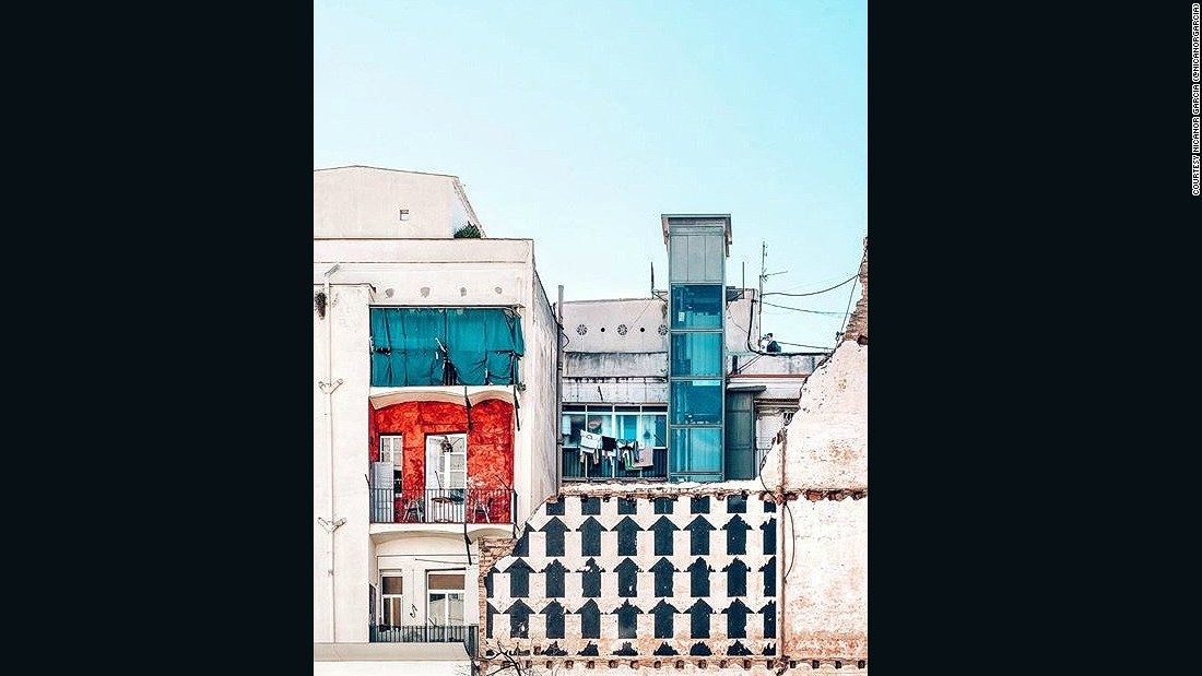 "The Raval area of Barcelona has changed a lot over the years, says photographer and Instagrammer Nicanor Garcia (<a href=""https://www.instagram.com/nicanorgarcia/"" target=""_blank"">@nicanorgarcia</a>), as displayed by this patchwork of architectural and building styles."