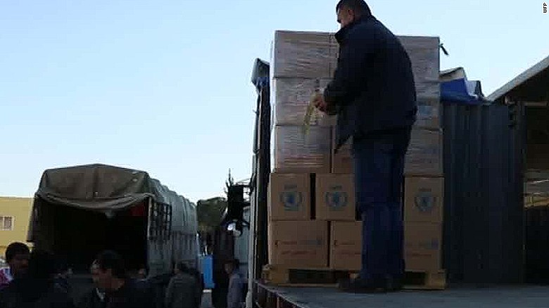 united nations aid reaching besieged syrian town nick paton walsh_00005802