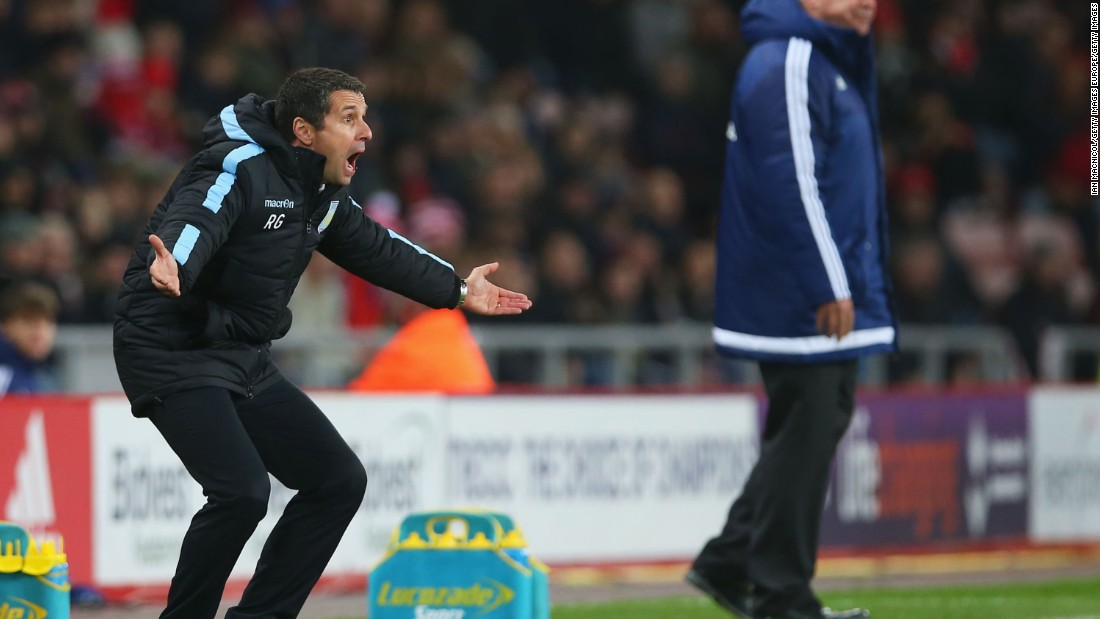 The club appointed French manager Remi Garde in early November in a bid to turn around its fortunes. Garde, a former defensive midfielder, was a member of Arsenal's famed EPL and FA Cup-winning side of 1997-98 but he has been unable to inspire his charges at Villa Park.
