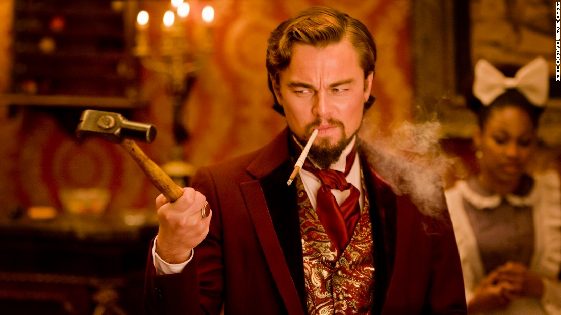 "The actor sank his teeth into the role of evil plantation owner Calvin Candie in Quentin Tarantino's ""Django Unchained"" in 2012."