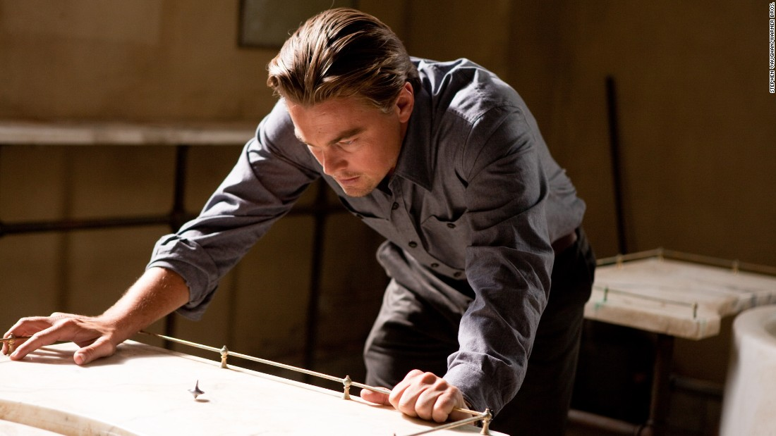 "Fans are still scratching their heads over director Christopher Nolan's 2010 sc-fi thriller ""Inception."" <a href=""http://www.npr.org/templates/story/story.php?storyId=128497657"" target=""_blank"">DiCaprio told NPR</a> that he and Nolan spent every day for two months straight going over the story."