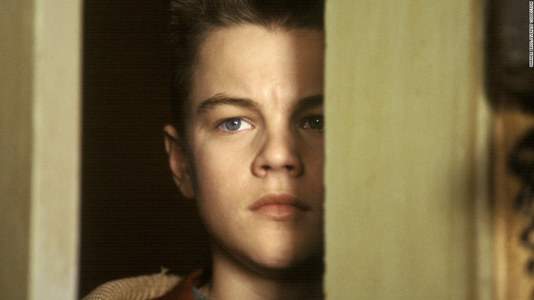 "A young DiCaprio impressed critics as a teen struggling with a difficult relationship with his stepfather in the 1993 film ""This Boy's Life."" The movie is an adaptation of a memoir by Tobias Wolff."