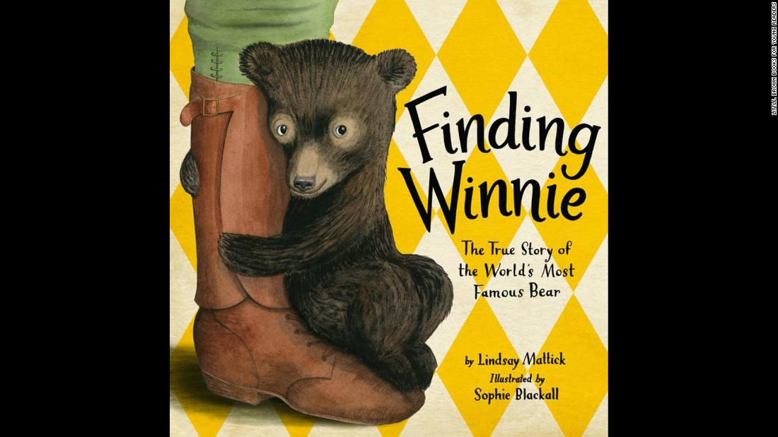 "<strong>The Randolph Caldecott Medal</strong> for the most distinguished American picture book for children: ""Finding Winnie: The True Story of the World's Most Famous Bear,"" illustrated by Sophie Blackall and written by Lindsay Mattick."