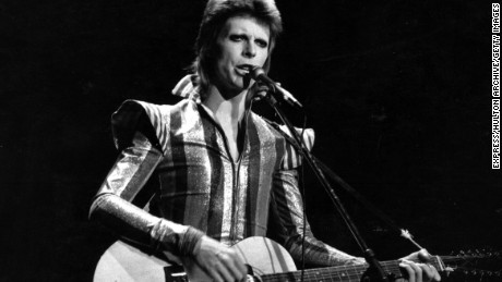 David Bowie: How he toyed with gender