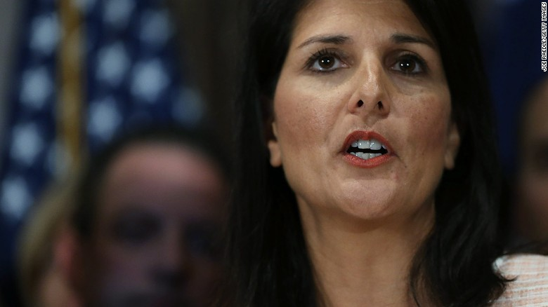Nikki Haley to be US ambassador to UN